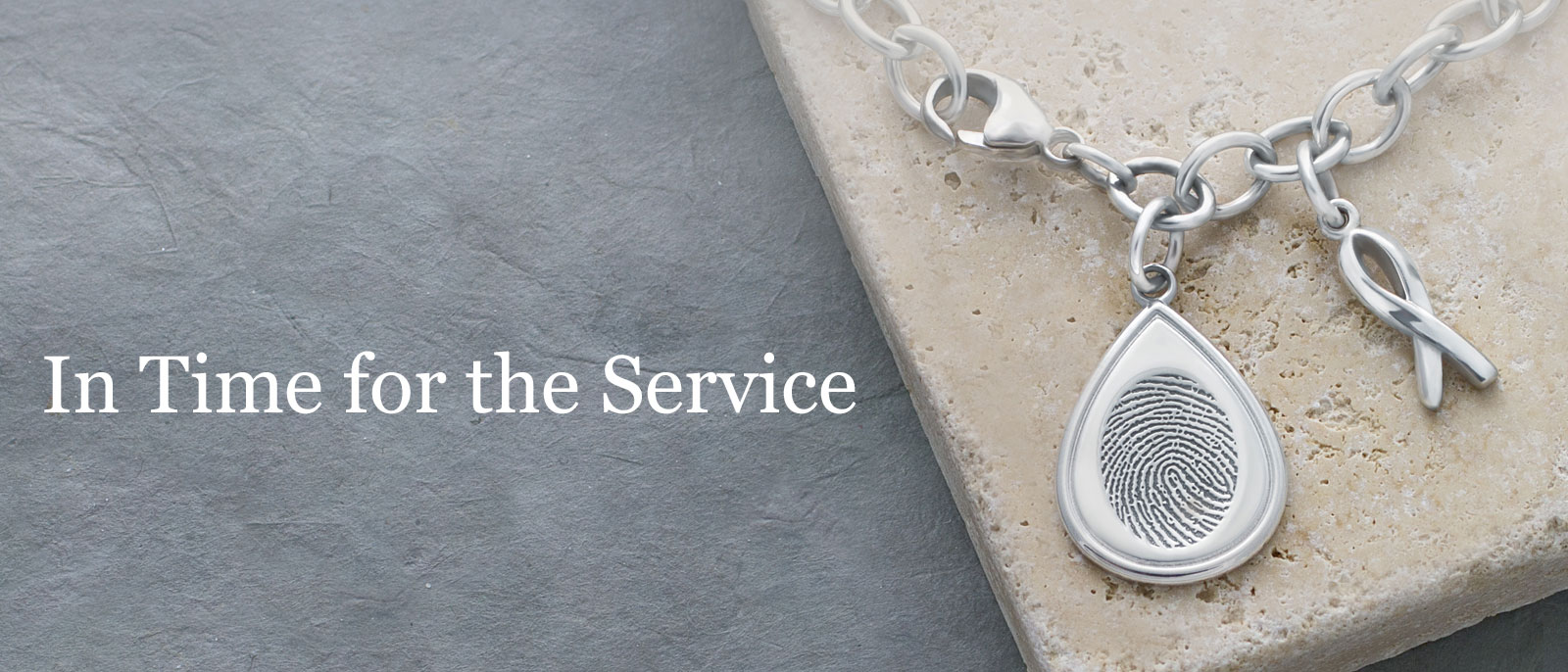 Fingerprint Keepsakes In Time for the Service